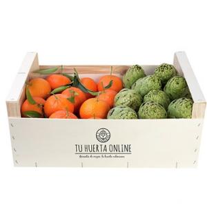 CAJA MANDARINAS Y ALCACHOFAS 10Kg (6kg mandarinas – 4kg alcachofas)