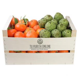 CAJA MANDARINAS Y ALCACHOFAS 15Kg (10kg mandarinas – 5kg alcachofas)
