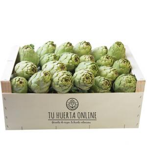 cajas de alcachofas
