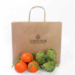 Bolsa de la huerta 3Kg alcachofas y 3Kg naranjas (envío Valencia)