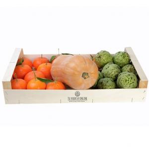 Caja DIURETICA natural 5 Kg (2 Kg naranjas mesa, 1 kg alcachofas y 1 unid. calabaza cacahuete)