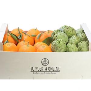 Naranjas de mesa y Alcachofas 10 kg(7kg naranjas/3alcachofas)