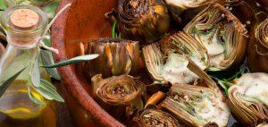 Receta de alcachofas esfofadas al horno 1