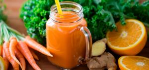 Cómo preparar jugo de naranja con zanahoria 1