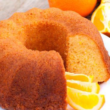como hacer un buen bizcocho de naranja